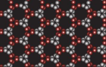 Free pattern black circle background - Free vector #169807
