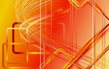Red futuristic backdrop with stripes - Free vector #169887