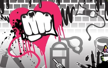Free Vectors - Graffiti and Other Art - vector gratuit #170127
