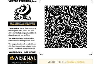 Seamless Swirls Vector Freebies - Free vector #170187
