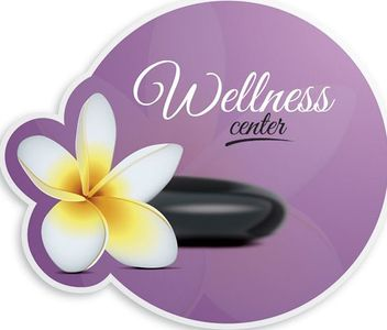 Spa Wellness Center Floral Banner - vector #170327 gratis