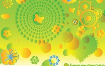 Spring Vector Art Graphics - Free vector #171147