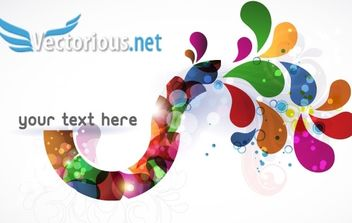Colorful Vector Element - Kostenloses vector #171277