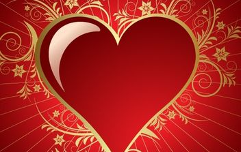 Heart for Valentines Day - vector gratuit #172417