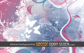 Abstract background - Free vector #172437