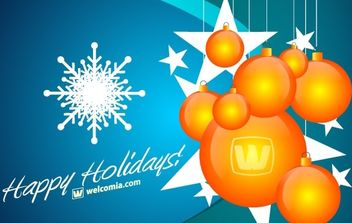 Free Christmas Vector Design - Kostenloses vector #172457