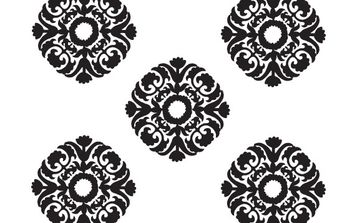 Free vector baroque ornament - бесплатный vector #172547