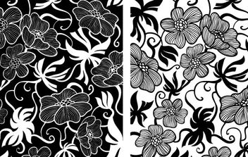 European Art Deco Floral Vectors - бесплатный vector #172707