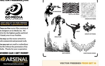 Vector Pack 14 Sampler - Free vector #172747