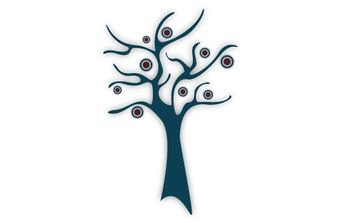 Cute tree - vector #172797 gratis