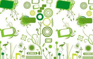 Organic Design Elements - vector gratuit #172837