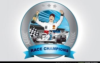 F1 Racing Vector - vector #173887 gratis