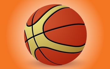 Basketball Illustration - Free vector #174127