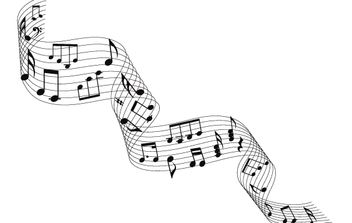 Musical notes - vector gratuit #174617