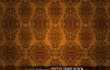 Seamless Wallpaper - Kostenloses vector #174927