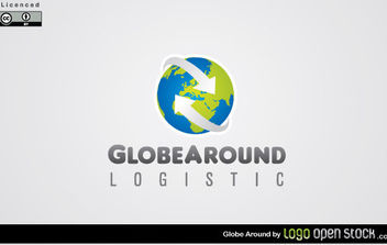 Globe Around - vector gratuit #175047