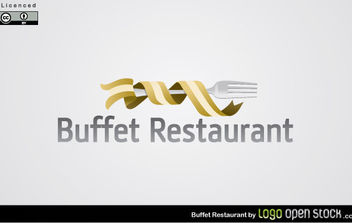 Buffet Restaurant - vector gratuit #175057