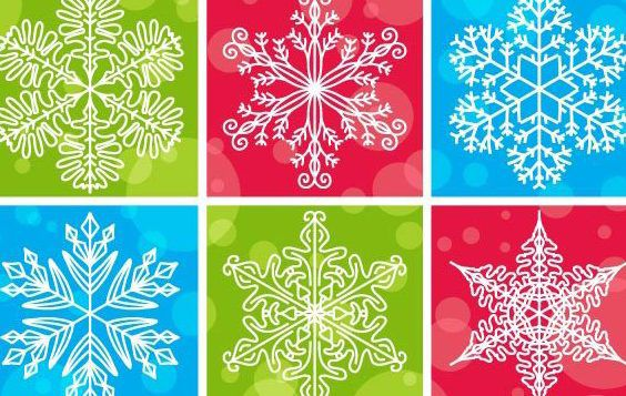 Design de vector pattern floco de neve - Free vector #175157