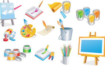 Vector Art Icons - Free vector #175307