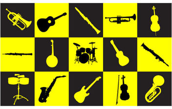 Musical Instruments - vector #175397 gratis