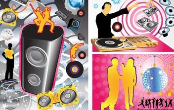 Party Vector Graphics - бесплатный vector #176147