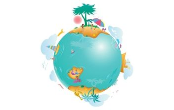 Earth Life - Free vector #176187