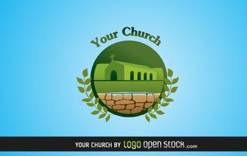 Your Church Logo - vector #176277 gratis