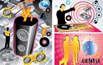 Party Vector Graphics - vector gratuit #176337