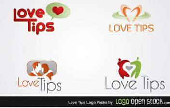 Love Tips Logo Pack 01 - Kostenloses vector #176347
