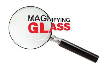 magnifying glass - vector gratuit #176507