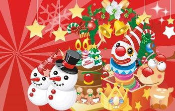 Vector Christmas Banners - бесплатный vector #176677