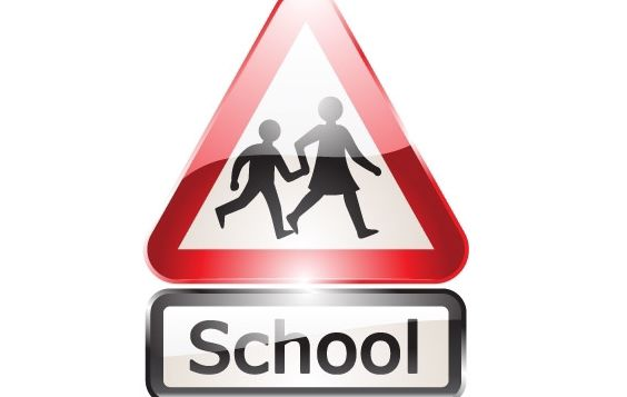 Glossy shiny school signs - бесплатный vector #177027