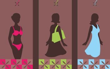 Funky Fashion Tags - Free vector #177177
