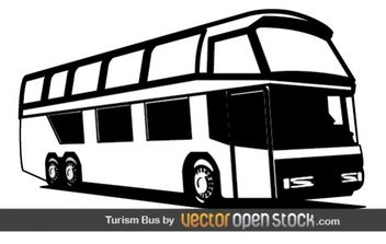 Tourism Bus - vector gratuit #177427