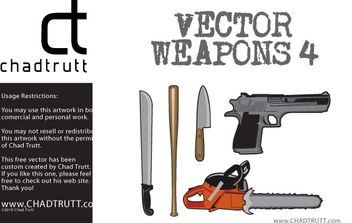 Vector Weapons 4 - Free vector #177477