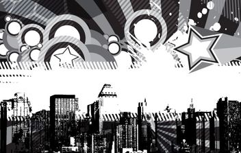 City Skyline 3 - vector gratuit #177737