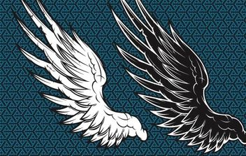 Wings Vector - vector #177767 gratis