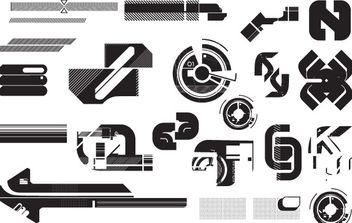 high-tech vectors pack1 - vector gratuit #177857