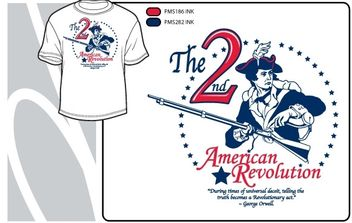2nd American Revolution - vector gratuit #178117