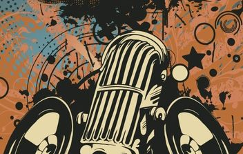 Microphone vector illustration - vector #178297 gratis