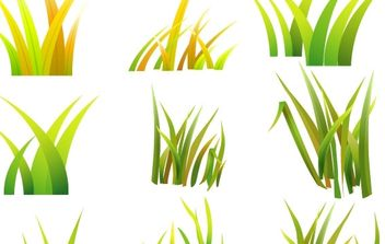 Vector Grass styles - Free vector #178967