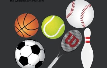 Sports Vector Pack - vector gratuit #179147