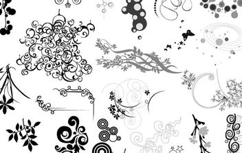 Ornaments - vector #179397 gratis