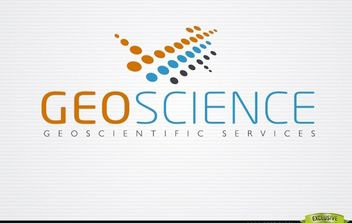 Abstract GeoScience Orange Blue Logo - бесплатный vector #181417
