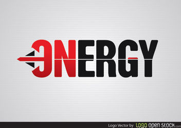 Energy Arrow Logo - vector gratuit #181477