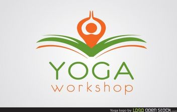 Yoga Logo Template - vector #181497 gratis