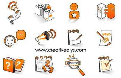 Funky Internet Icon Pack - Free vector #181767