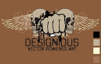 Free vector t-shirt design 3 - Free vector #181827