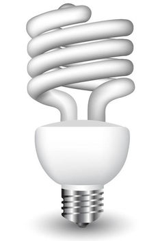 Realistic Energy Bulb - Free vector #181887