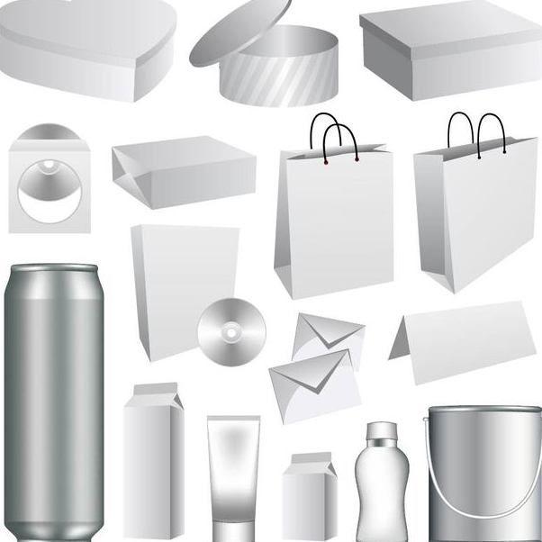 3D Verpackung Mockup Vorlage Kostenloser Vektor-Download 182067 ...